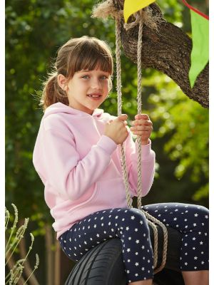Детские толстовки с капюшоном Fruit of The Loom Kids Hooded Sweat