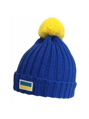 Акриловые шапки патриотические Cofee UA5500.11
