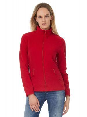 Флисовая куртка женская B&С ID 501 на молнии