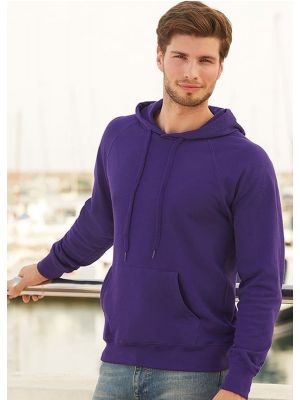 Облегченные толстовки Fruit of The Loom Lightweight Hooded Sweat