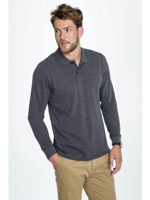 Мужская рубашка поло SOL'S PERFECT LSL MEN