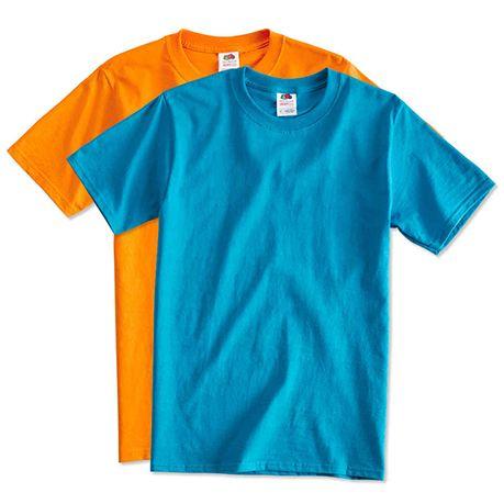 Цветные футболки оптом